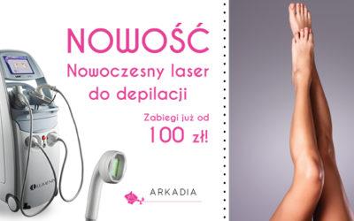 Najnowocześniejszy laser do depilacji